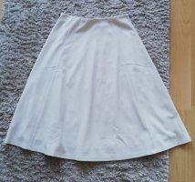 H&M Spódnica z koła biały