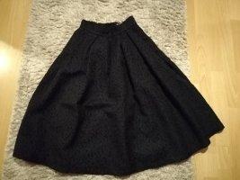 H&M Spódnica z koła ciemnoniebieski
