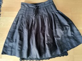 Zara Circle Skirt black