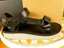 TEVA Outdoor Leder Sandalen 36 schwarz NEU