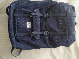 Herschel Laptop Backpack white-dark blue