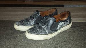 The Kooples Zapatos formales sin cordones blanco-negro