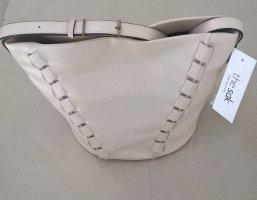 THE SAK - Leder Hobo Bag Beuteltasche Farbe Ecru