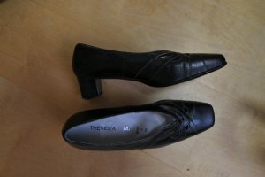 Mary Jane Pumps black leather