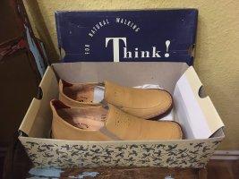 Think! Halbschuhe / Schuhe Calella, 100% Leder, Gr. 38 1/2, NEU