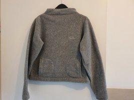 Thomas Burberry Polarowy sweter jasnoszary