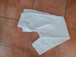 Thomas Rath Jeans a 3/4 bianco
