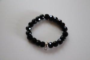 Thomas Sabo Bracelet noir-argenté