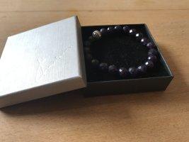 Thomas Sabo Armband Amethyst und Zirkonia-Steine