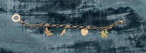 Thomas Sabo Bracelet en argent argenté-vert