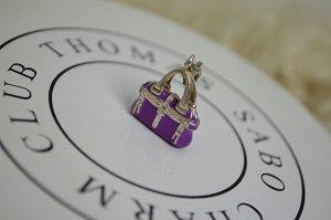 Thomas Sabo Dije color plata-lila metal
