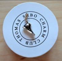 Thomas Sabo Bracelet à breloques noir-argenté