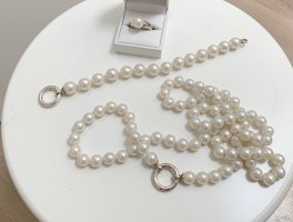 Thomas Sabo Pearl Necklace white-silver-colored