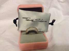 Thomas Sabo Silver Ring silver-colored real silver