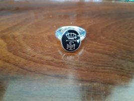 Ti Sento: Silberring mit Monogramm