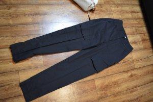 Tie Waist Patch Pocket Pants 34 Nakd