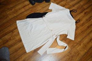 Nakd T-shirt jurk licht beige