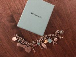 Tiffany & Co Bettelarmband aus Silber mit 14 Charms