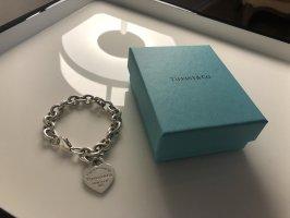 Tiffany & Co. - Charmarmband mit Herzanhänger