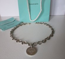 Tiffany&Co Collier Necklace silver-colored metal