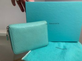 Tiffany & Co Zippy türkis Wallet GeldBörse Portemonnaie