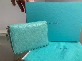 Tiffany & Co Zippy türkis Wallet GeldBörse Portemonnaie
