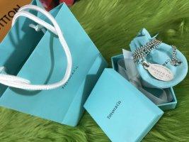 Tiffany&Co Naszyjnik jasnoszary