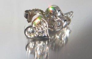 Tiffany Hearts Ohrringe