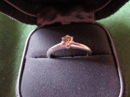 Tiffany Platin/Verlobungsring