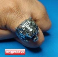 Tiger Ring aus Chirurgenstahl