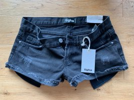 Tigha Hotpants denim style Used Look W28