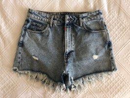 Tigha Pantaloncino di jeans multicolore