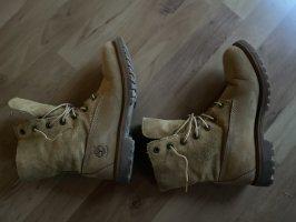 Timberland Aanrijg laarzen lichtbruin