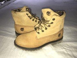 Timberland Botas de tobillo beige-coñac Cuero