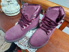 Timberland Ankle Boots bordeaux leather
