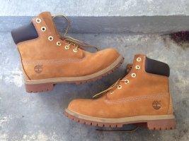 "Timberland Boots Premium 6"", Wheat Waterbuck, Gr. US 6,5"