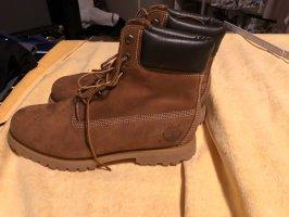 Timberland Aanrijg laarzen bruin-lichtbruin