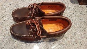 Timberland Zapatos de marinero marrón Cuero