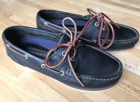 Timberland Zapatos de marinero azul oscuro