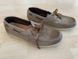 Timberland Zapatos de marinero beige Cuero