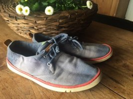 Timberland Sailing Shoes azure cotton