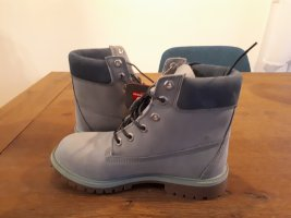 Timberland Lace-up Boots pale blue-sage green