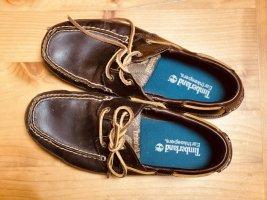 Timberland Leder Bootsschuhe
