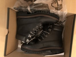 Timberland Winter Boots black leather