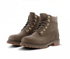 Timberland premium 6in Waterproof boots 40 junior dark beige nubuck