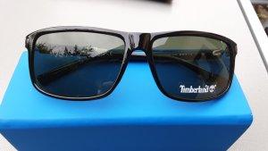 Timberland Owalne okulary przeciwsłoneczne czarny