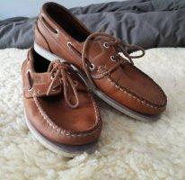 Timberland Zapatos de marinero marrón claro-marrón