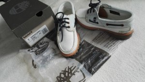 Timberland Sailing Shoes white leather