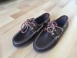 Timberland Zapatos de marinero taupe Cuero