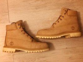 Timberland Halfhoge laarzen beige